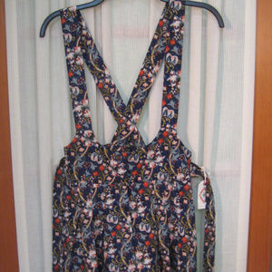 Forever 21 NWT Blue Floral Romper Size XS